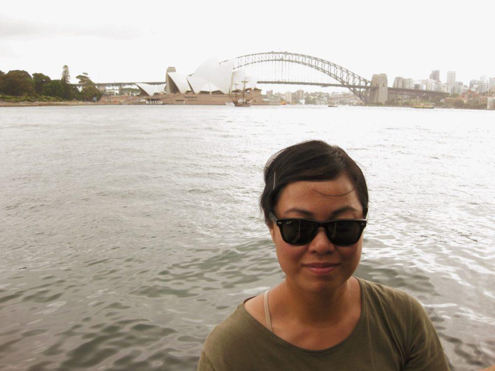 Sydney Selfie - Round The World Girl | www.rtwgirl.com