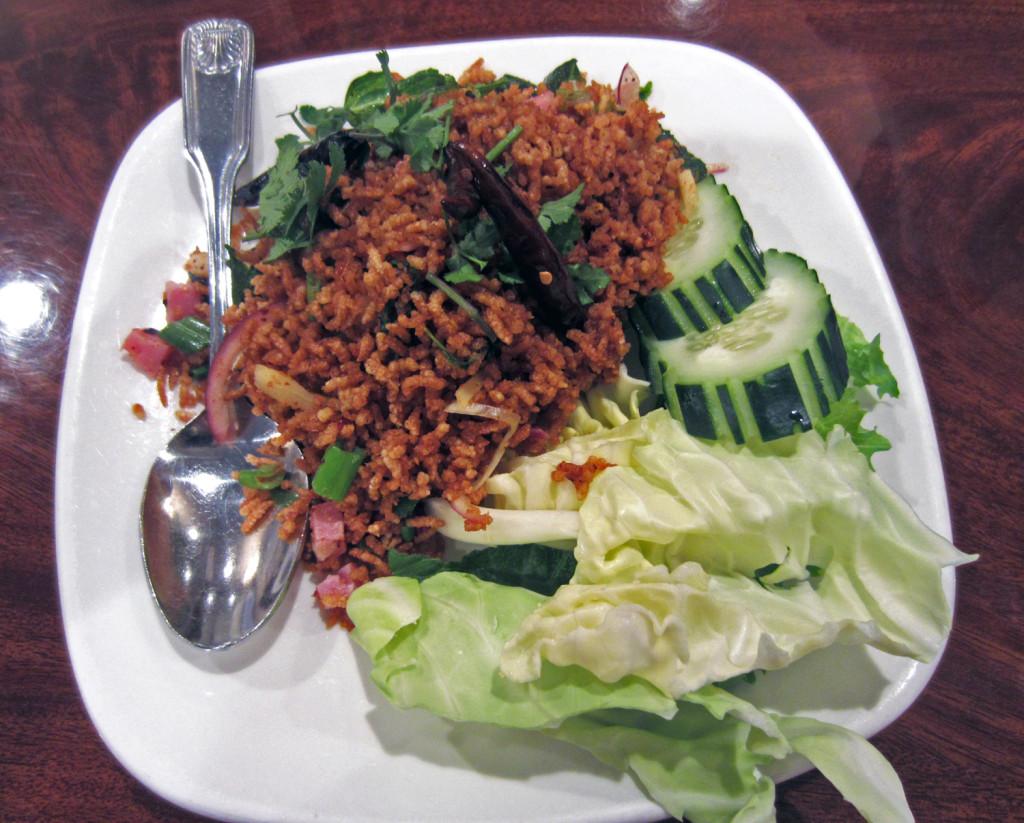 Lotus of Siam Crispy Rice | www.rtwgirl.com