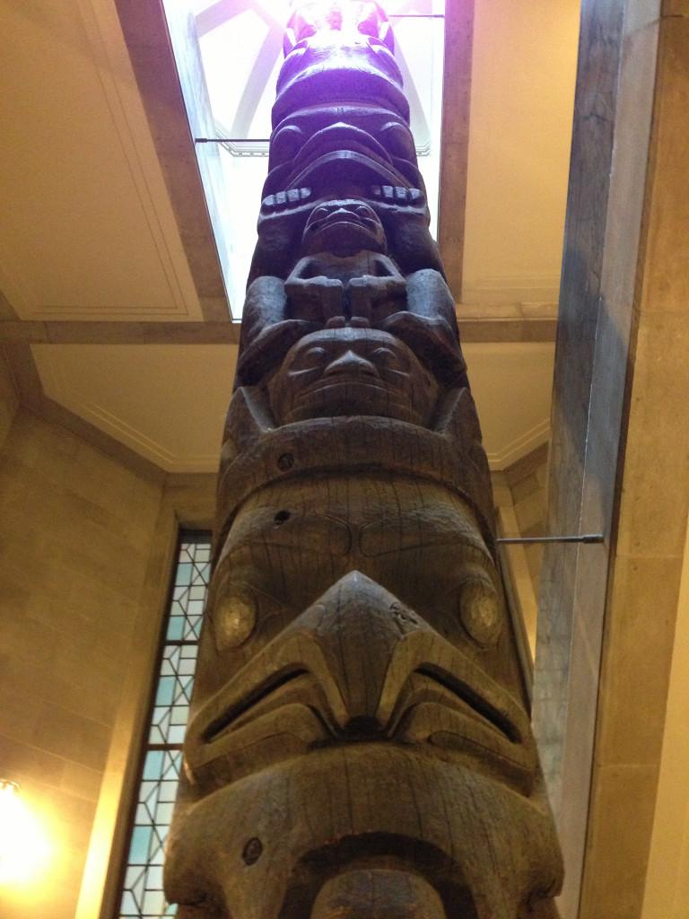 Totem Pole ROM Royal Ontario Museum