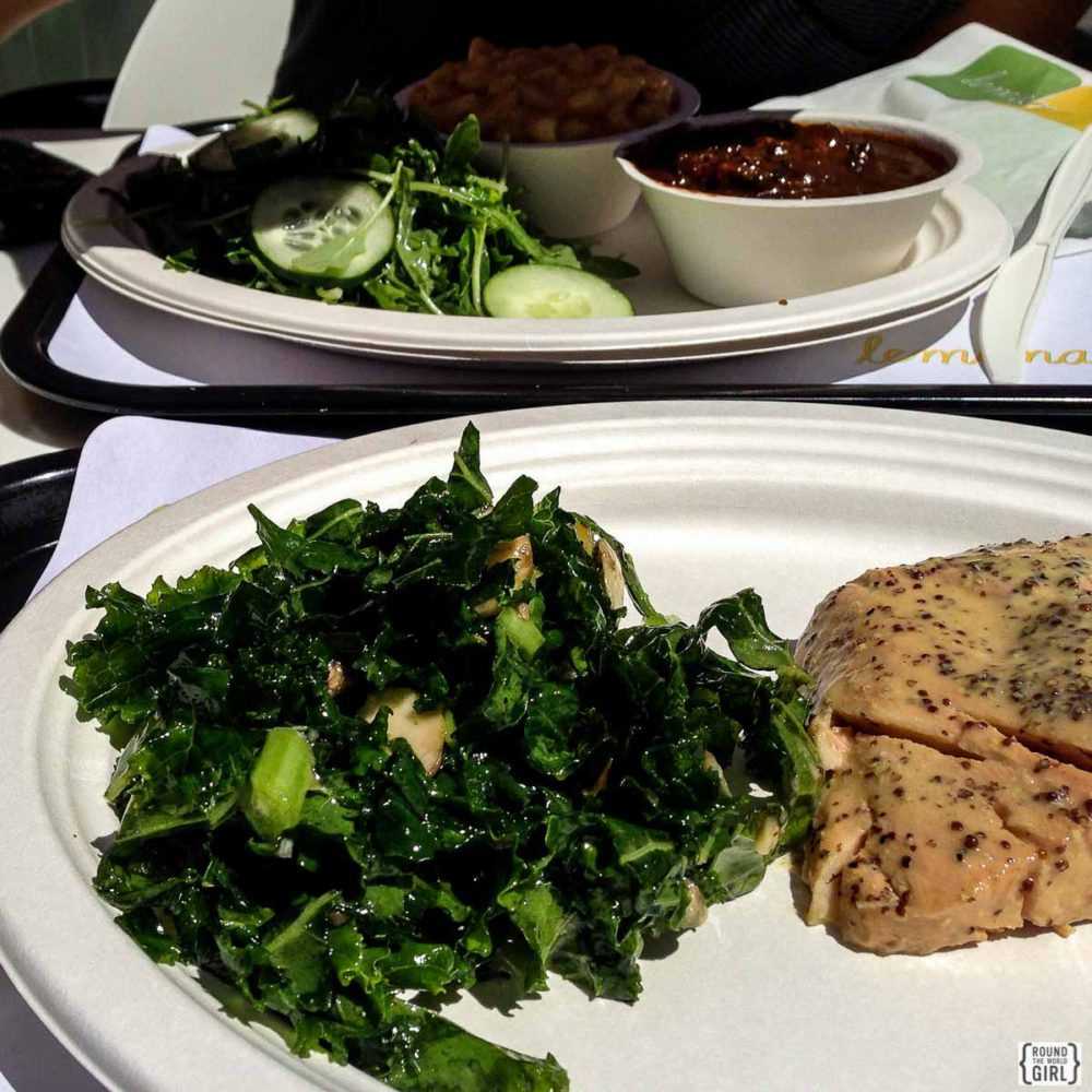 Eating Healthy When Traveling - Eat Less Carbs | www.rtwgirl.com