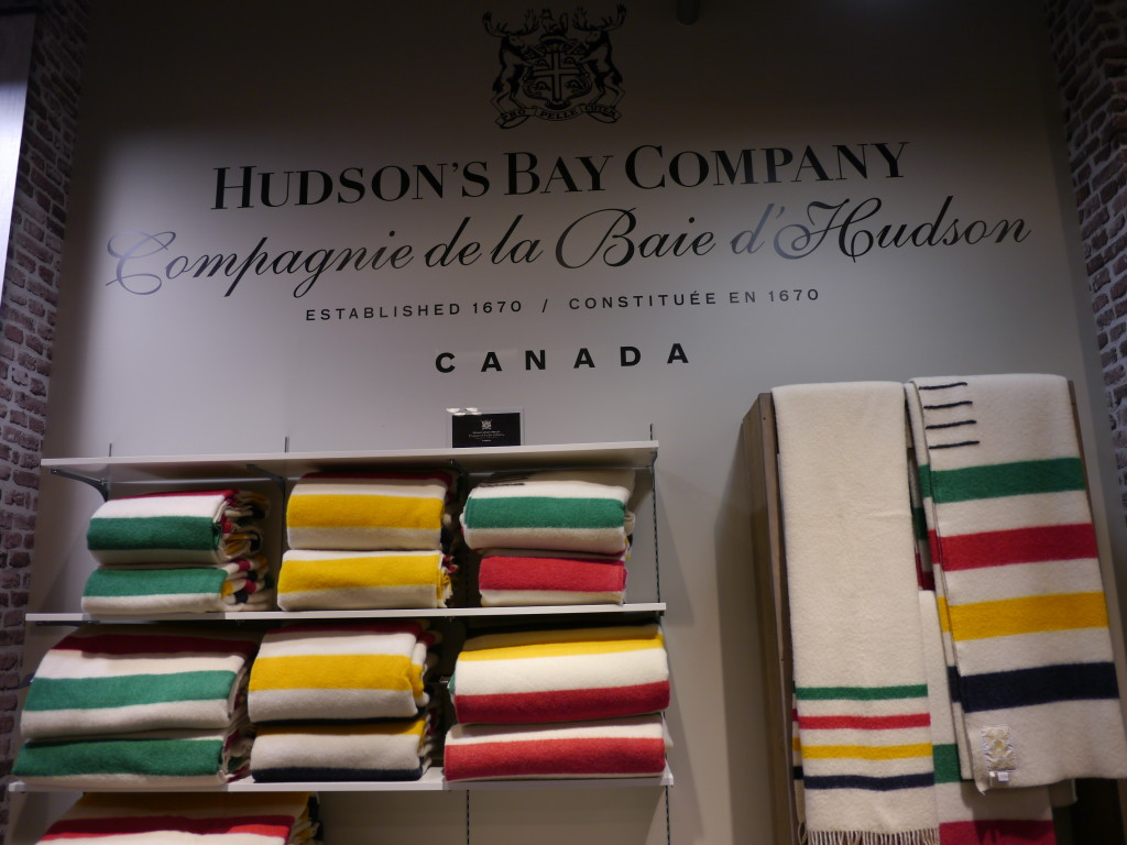 The Hudson's Bay Five Point Blankets