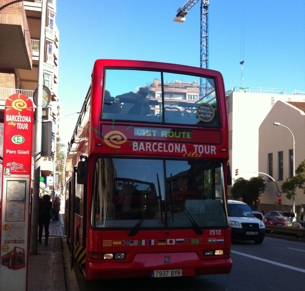 Hop On Hop Off Bus - Barcelona Inspiration  www.rtwgirl.com