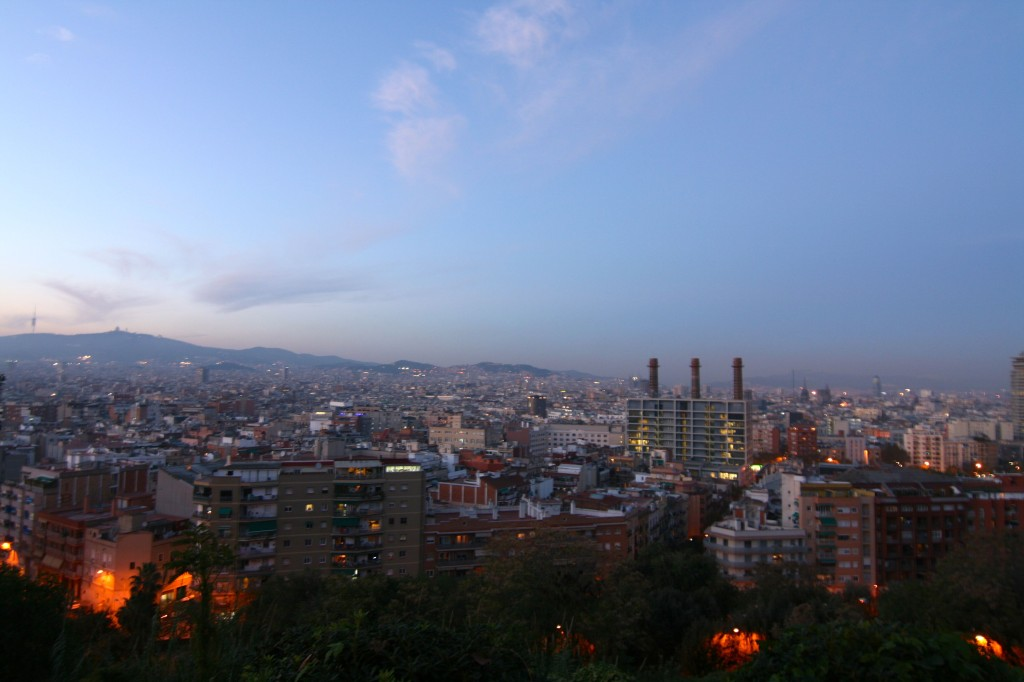 View from Montjuic - Barcelona Photo Inspiration