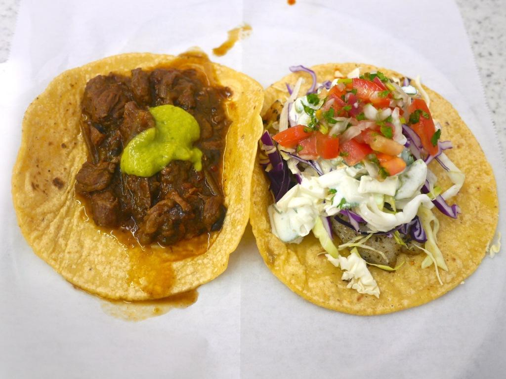 Steak Picado Tacos Steak Picado And Pescado Taco