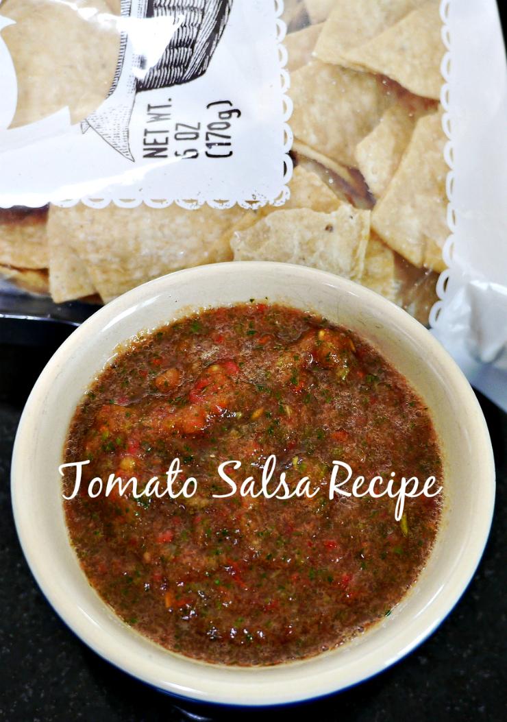 Salsa Recipe | www.rtwgirl.com