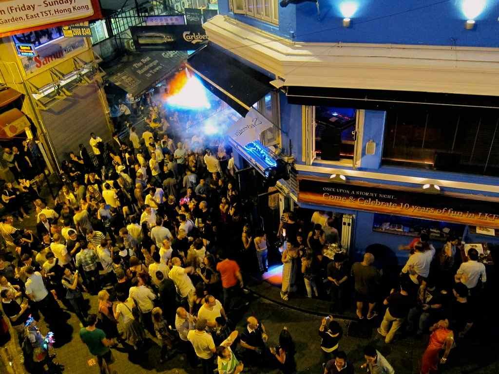 Lang Kwai Fong Hong Kong | www.rtwgirl.com