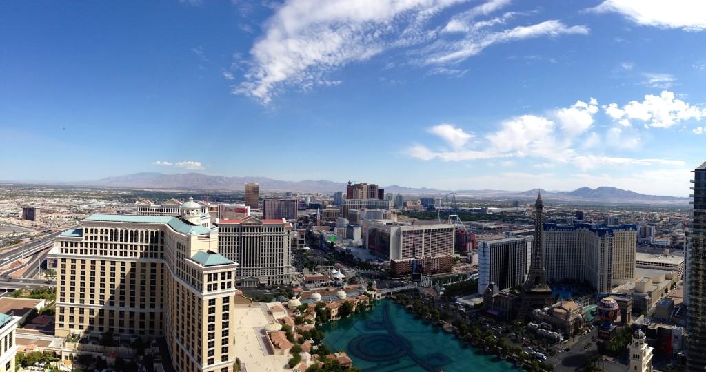 Cosmopolitan Las Vegas Panoramic View | www.rtwgirl.com
