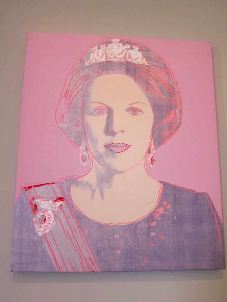 Warhol Queen Beatrix