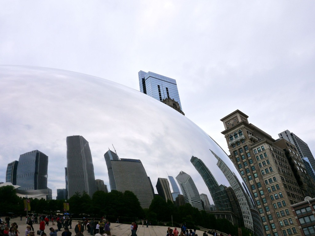 Cloud Gate Reflections- Chicago | www.rtwgirl.com