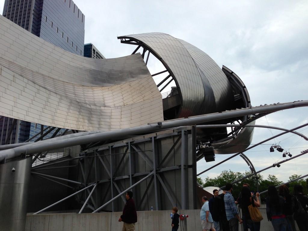 Jay Pritzker Pavilion - Chicago | www.rtwgirl.com