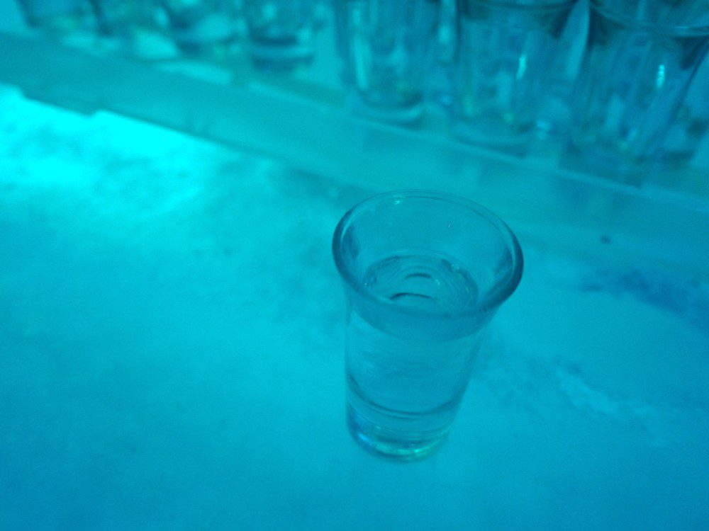 Vodka Tasting Bearfoot Bistro Vodka Ice Room