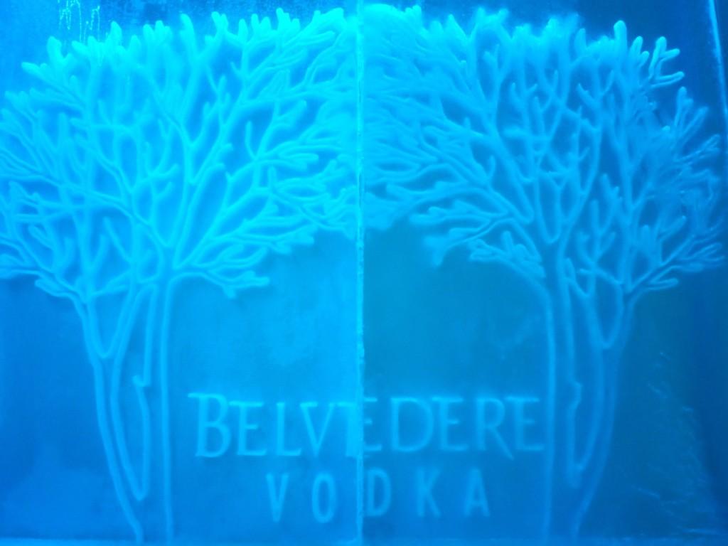 Bearfoot Bistro's Belvedere Ice Room
