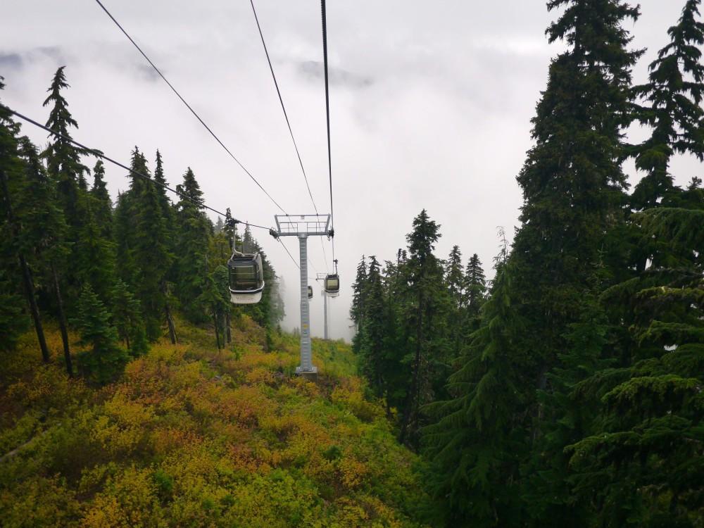 Riding the Whistler Gondola