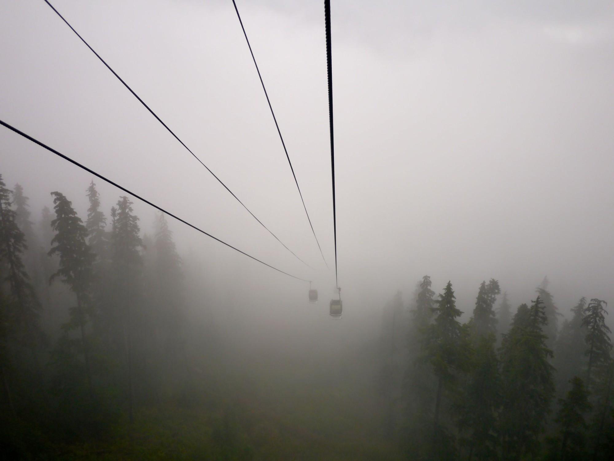 Gondola Fog Whistler