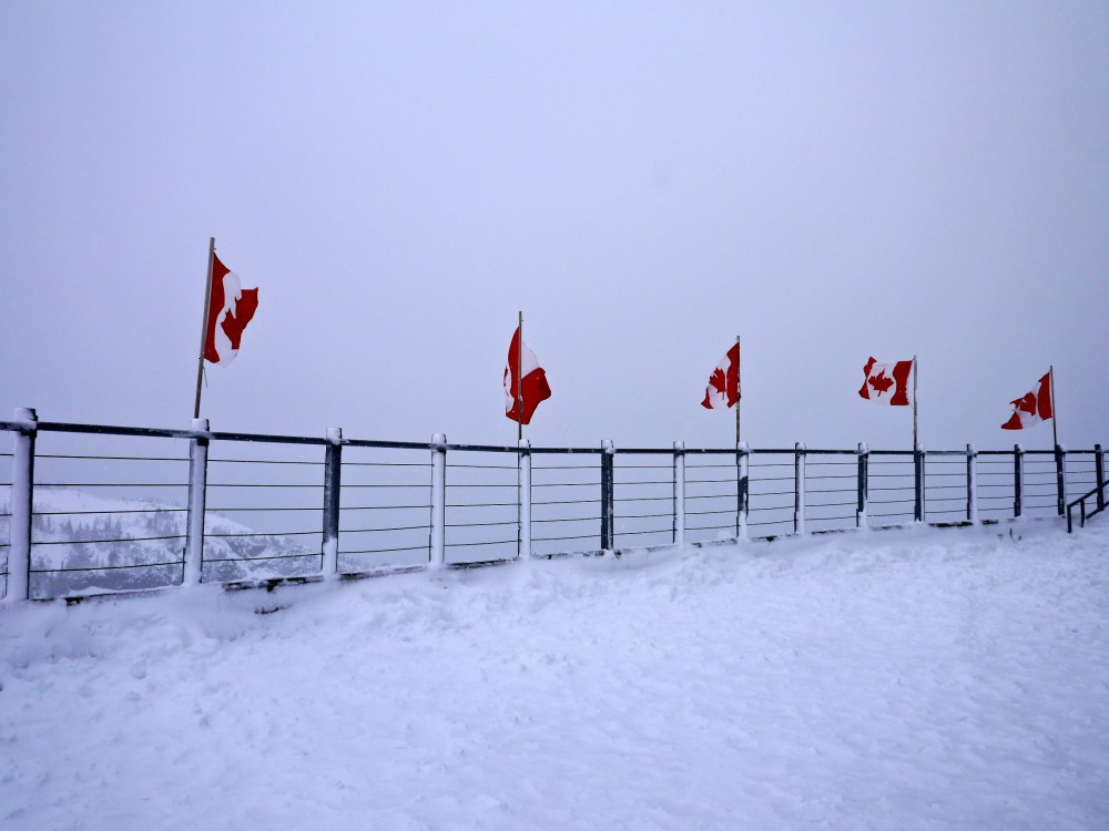 Snow Up On Whistler