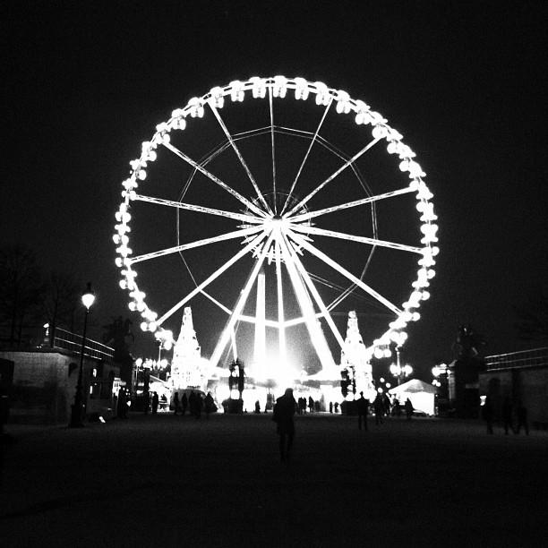 Ferris Wheel Paris Inspiration