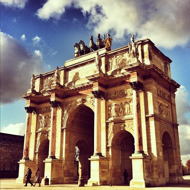 Walking Around The Tuileries Instagram Paris Inspiration