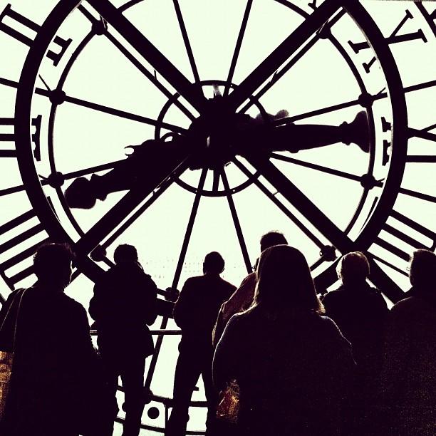 Clock Inside Musee D'Orsay - Paris inspiration