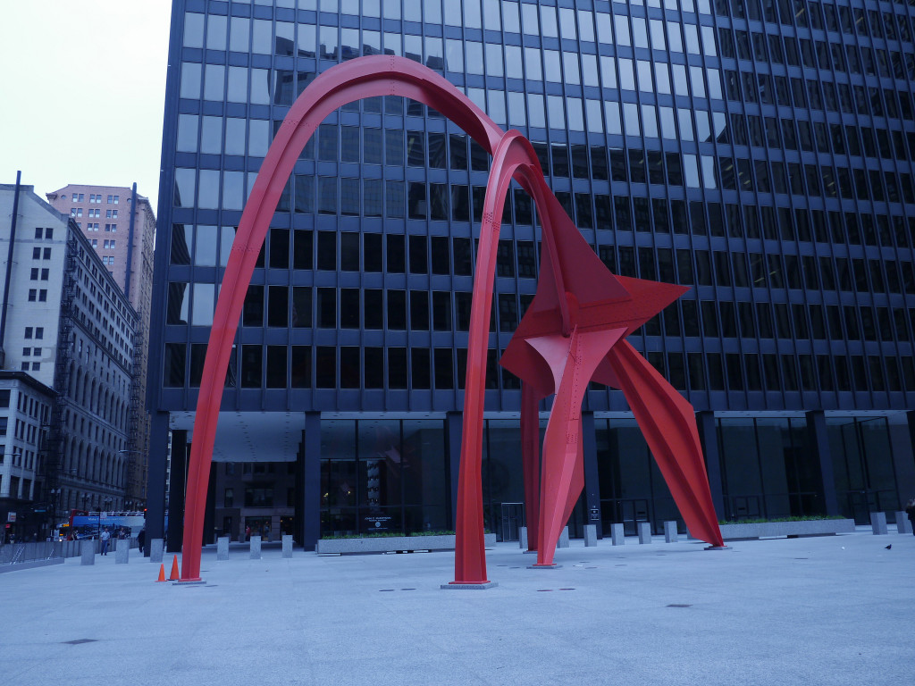 Flamingo by Alex Calder - Chicago | www.rtwgirl.com