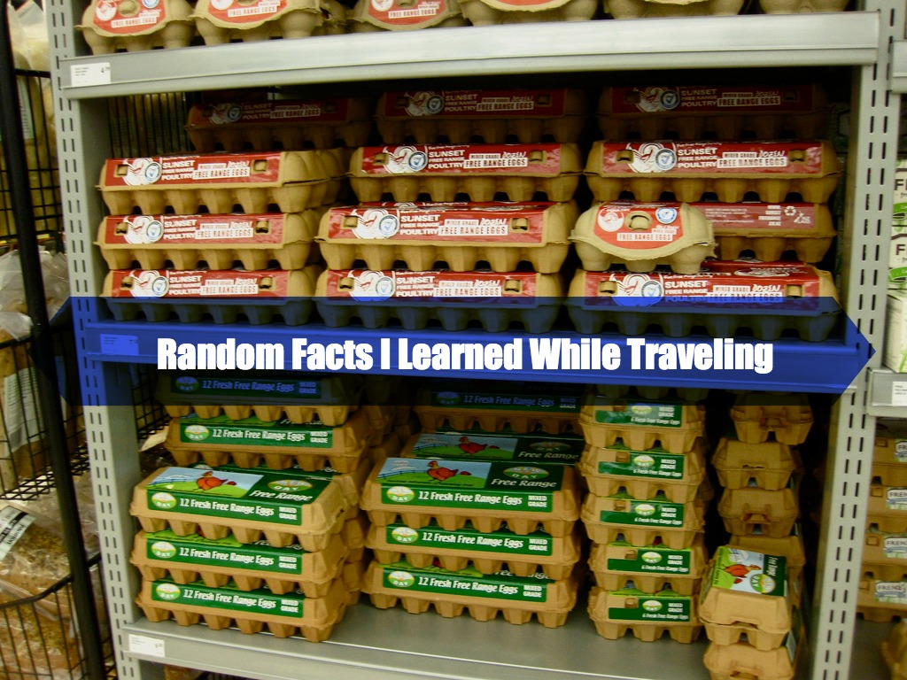 Random Facts I Learned When Traveling
