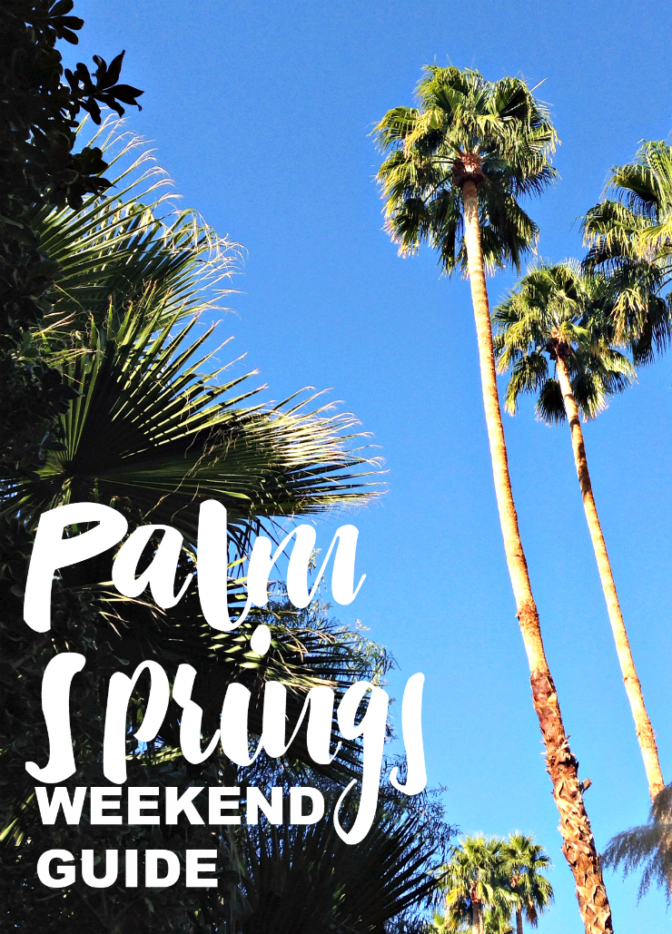 A Palm Springs Weekend Guide | www.rtwgirl.com