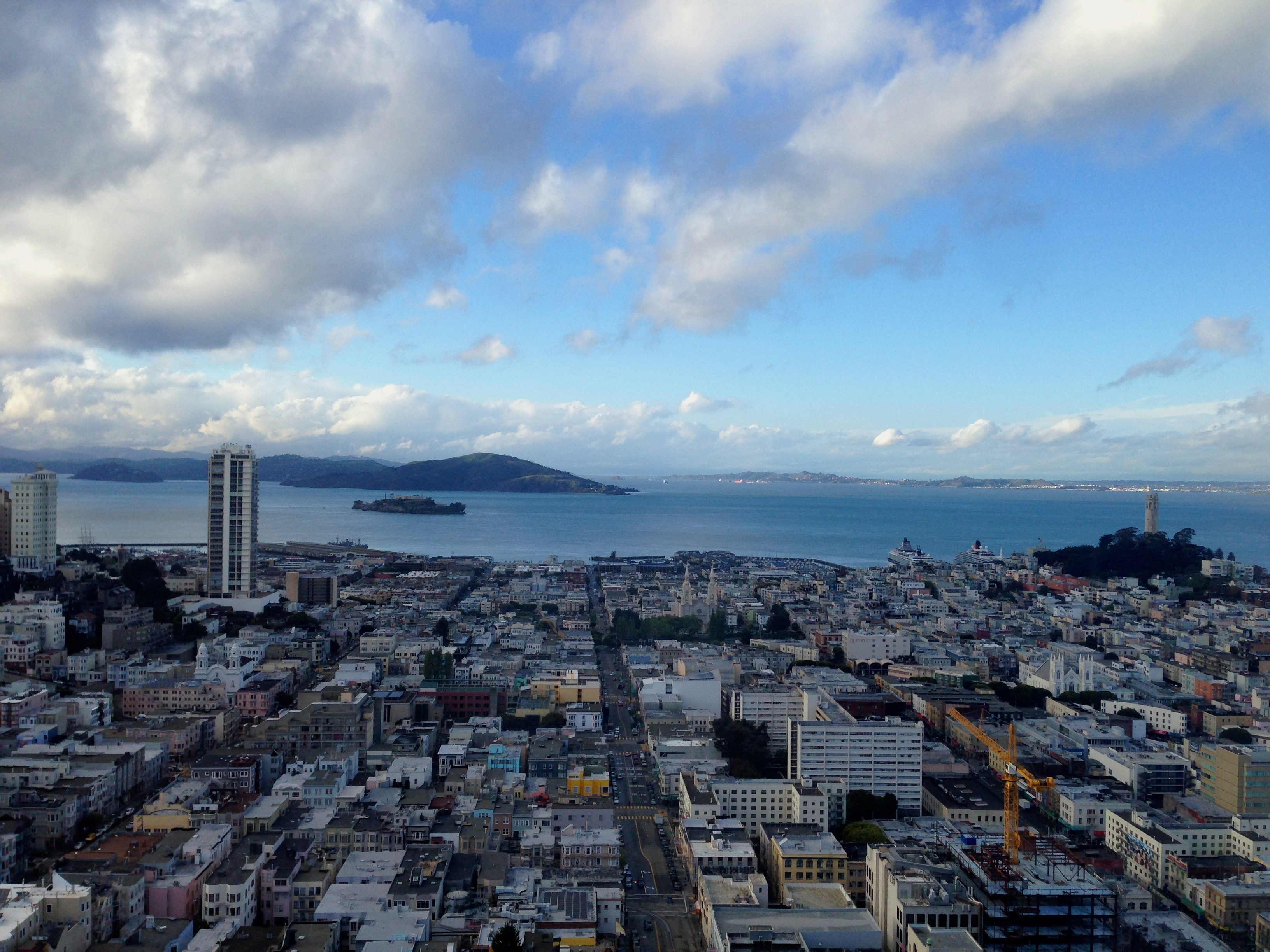View From Fairmont San Francisco