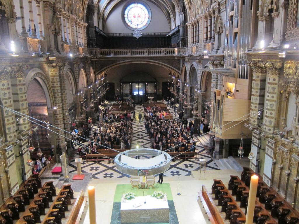 Santa Maria de Montserrat abbey