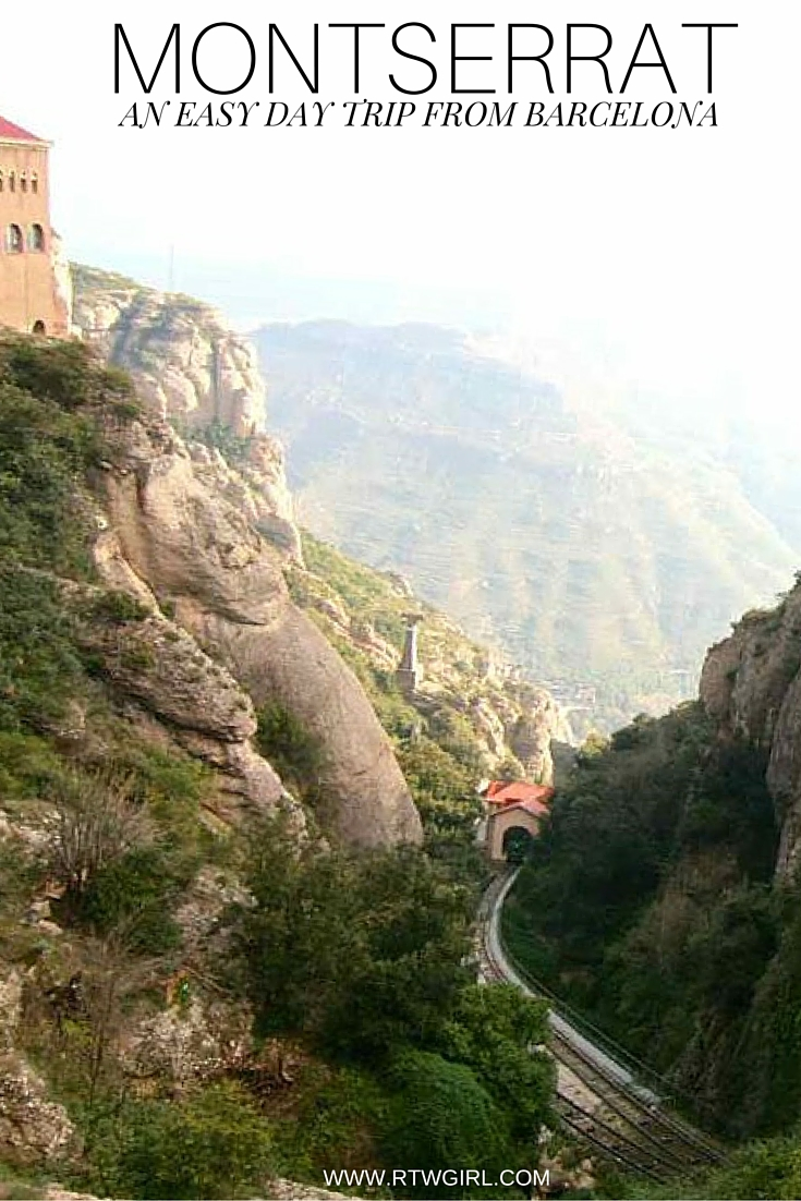 Montserrat - An easy day trip from Barcelona | www.rtwgirl.com