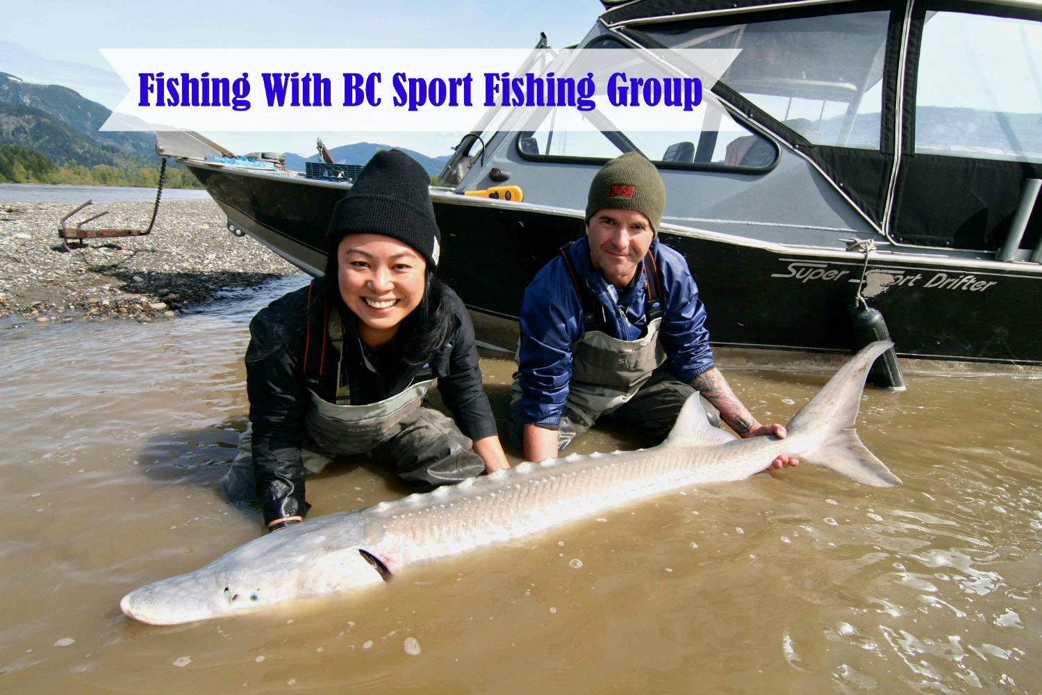 Sturgeon Fishing With BC Sport Fishing Group