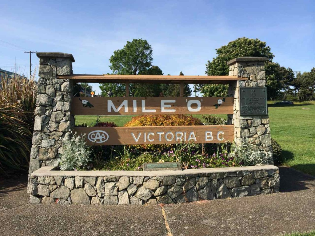 Beacon Hill Park - Mile Zero Trans Canada Highway