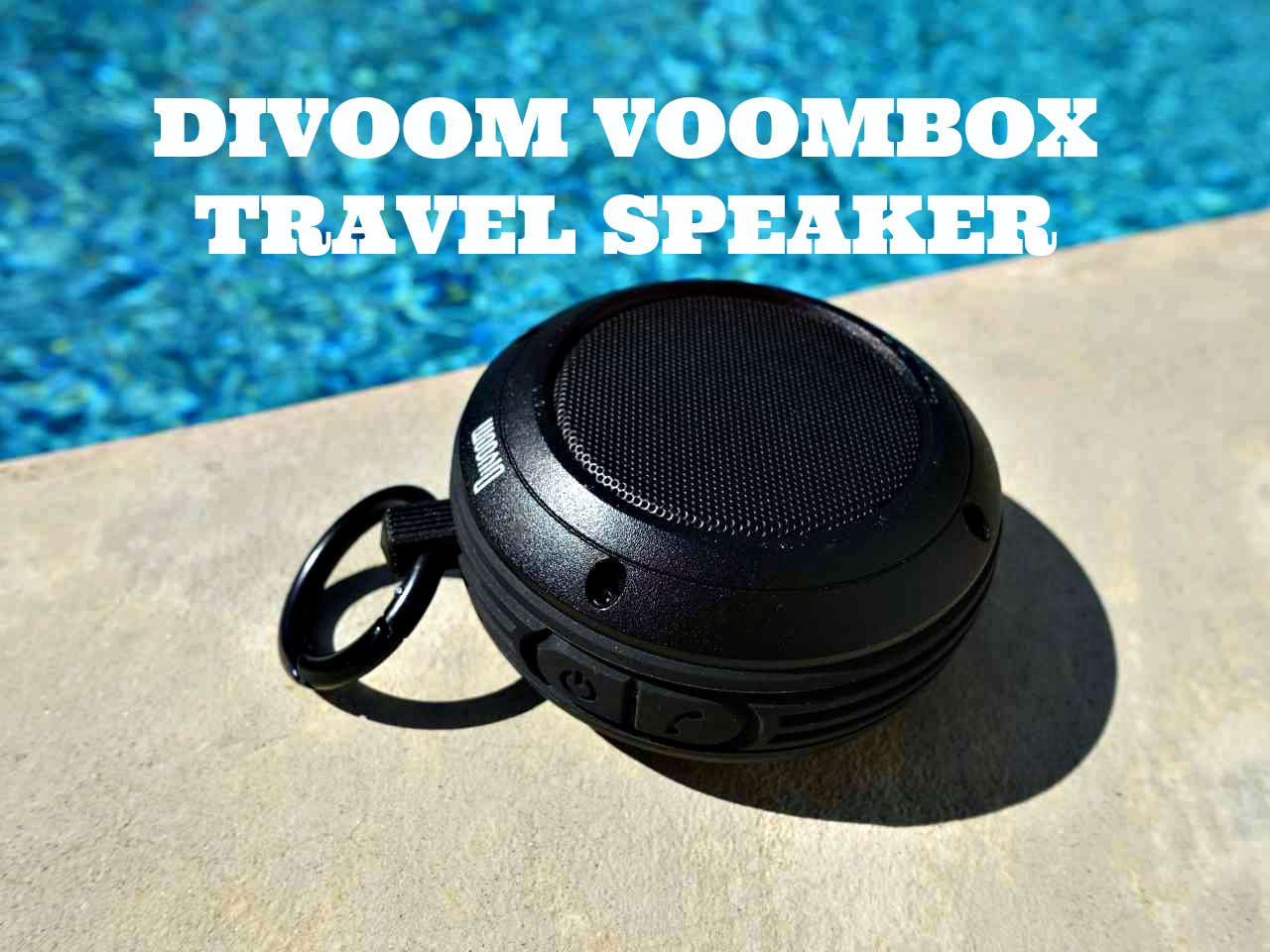 Divoom Voombox Travel Bluetooth Speaker: Get Your Travel Party Vibes On
