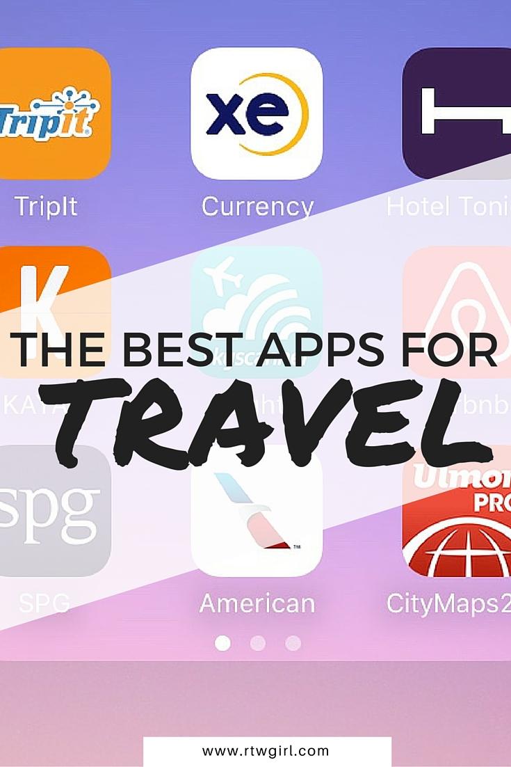The Best Travel Apps   www.rtwgirl.com