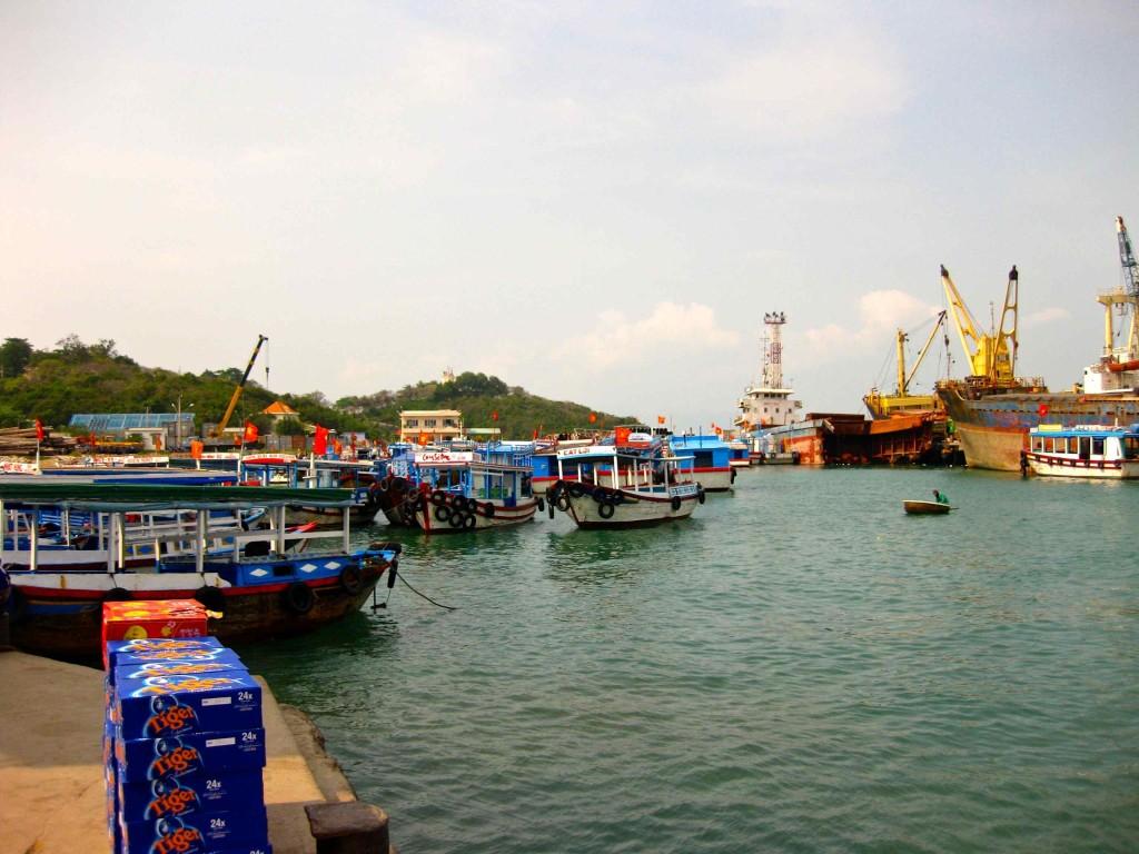 Nha Trang Vietnam Boat Time