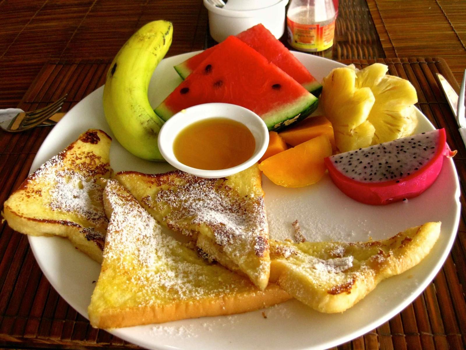 Ha Van Hotel Tropical Breakfast Nha Trang Vietnam