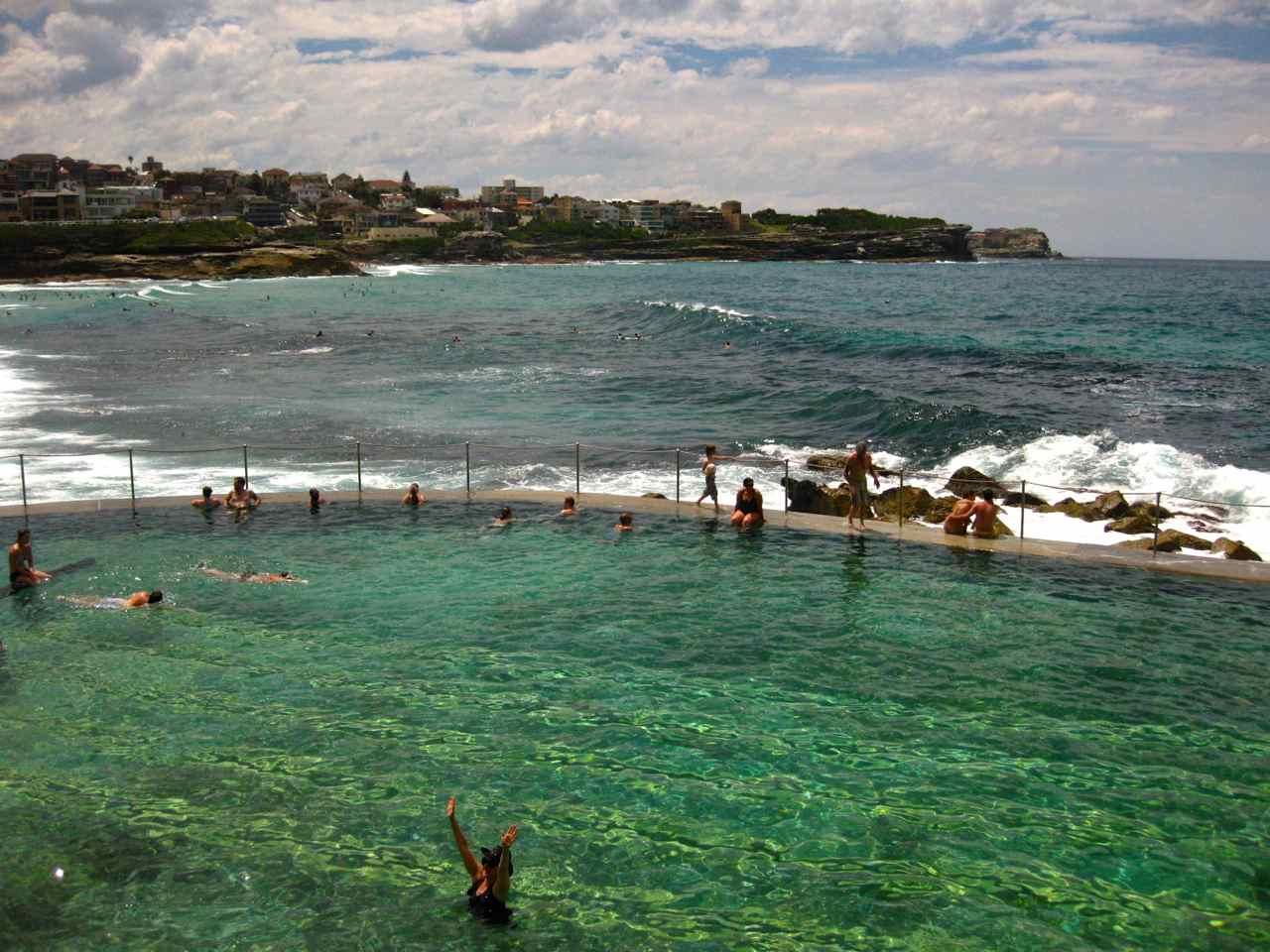 Bronte Beach Pool - Sydney Beaches   www.rtwgirl.com