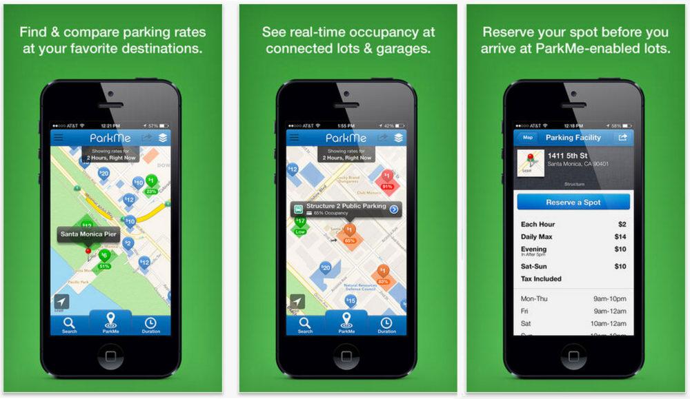 Parkme - Best Travel Apps   www.rtwgirl.com