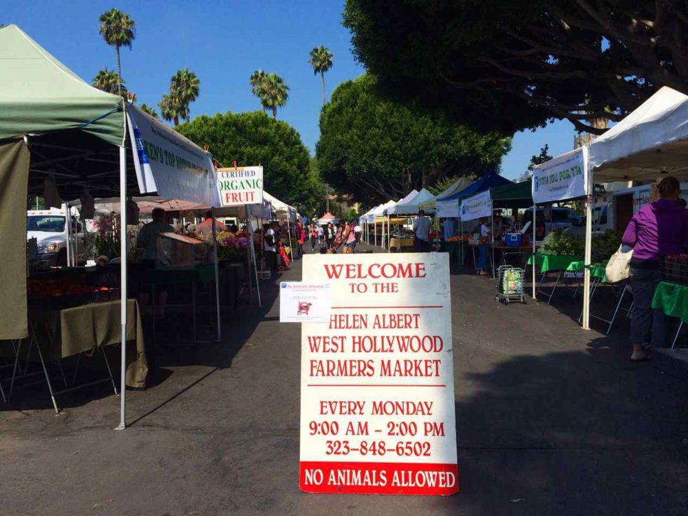 Helen Albert West Hollywood - Los Angeles Farmers Market   www.rtwgirl.com