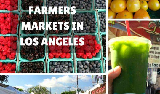 Los Angeles Farmers Markets - www.rtwgirl.com