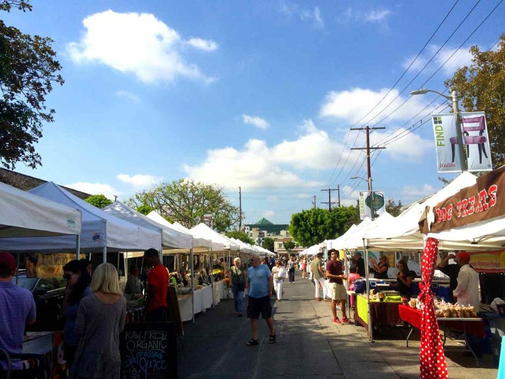 Melrose Place Farmers - Los Angeles Farmers Markets