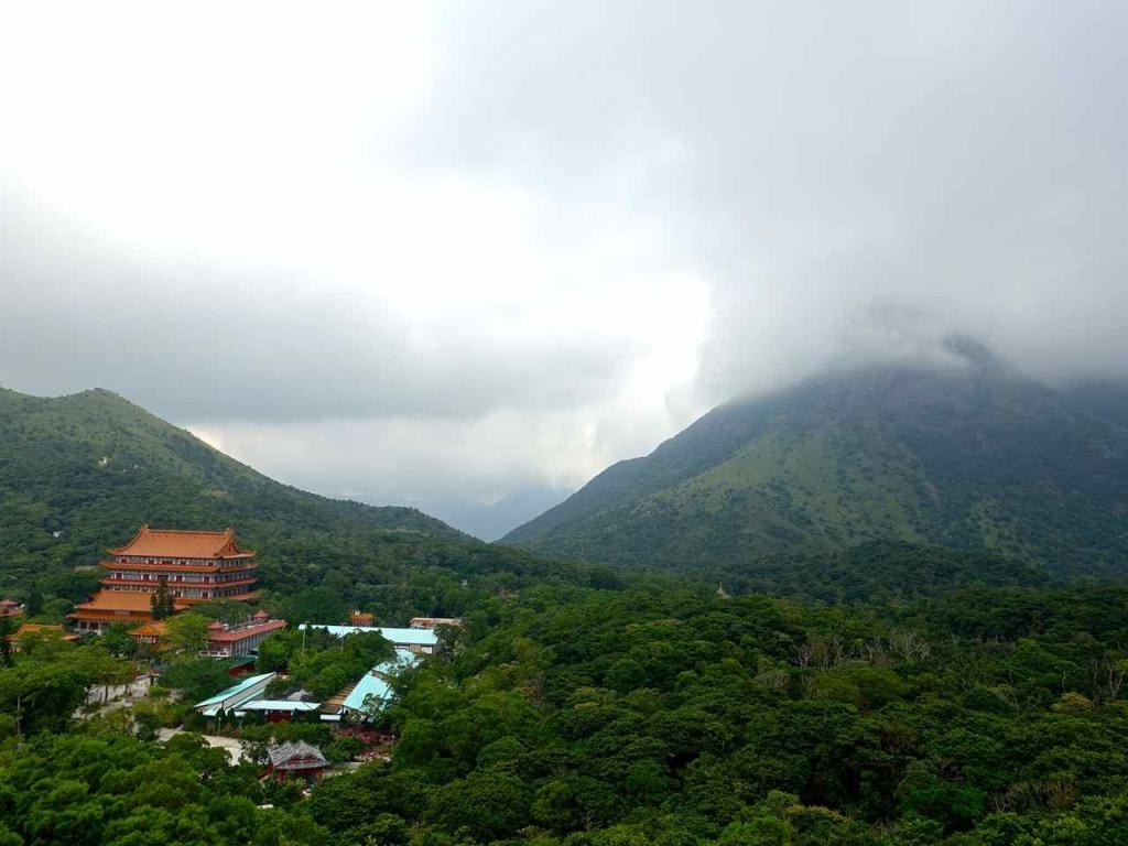 View from Tian Tan Buddha - Hong Kong Views Not To Miss