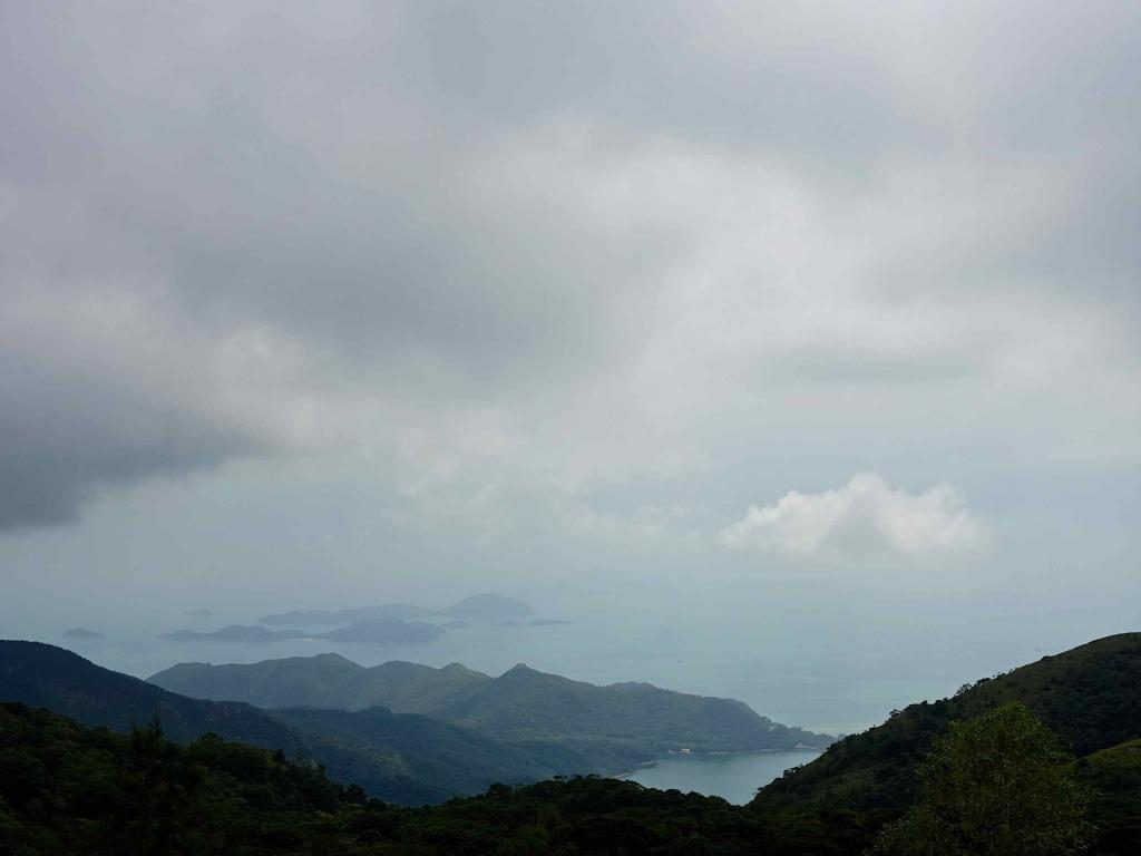 View from Tian Tan Buddha Hong Kong RTWgirl.com