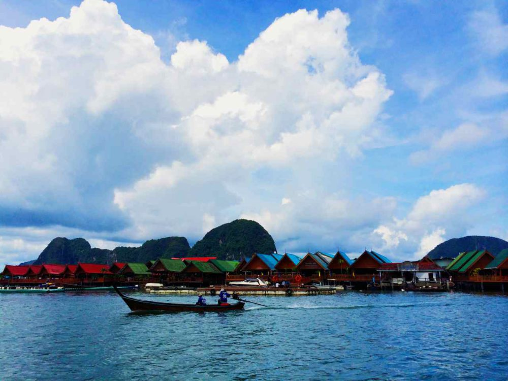Koh Panyee Island Fishing Village