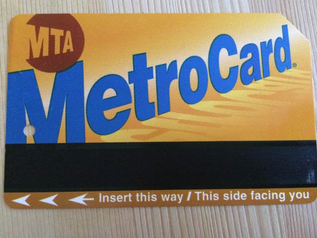 Metrocard!