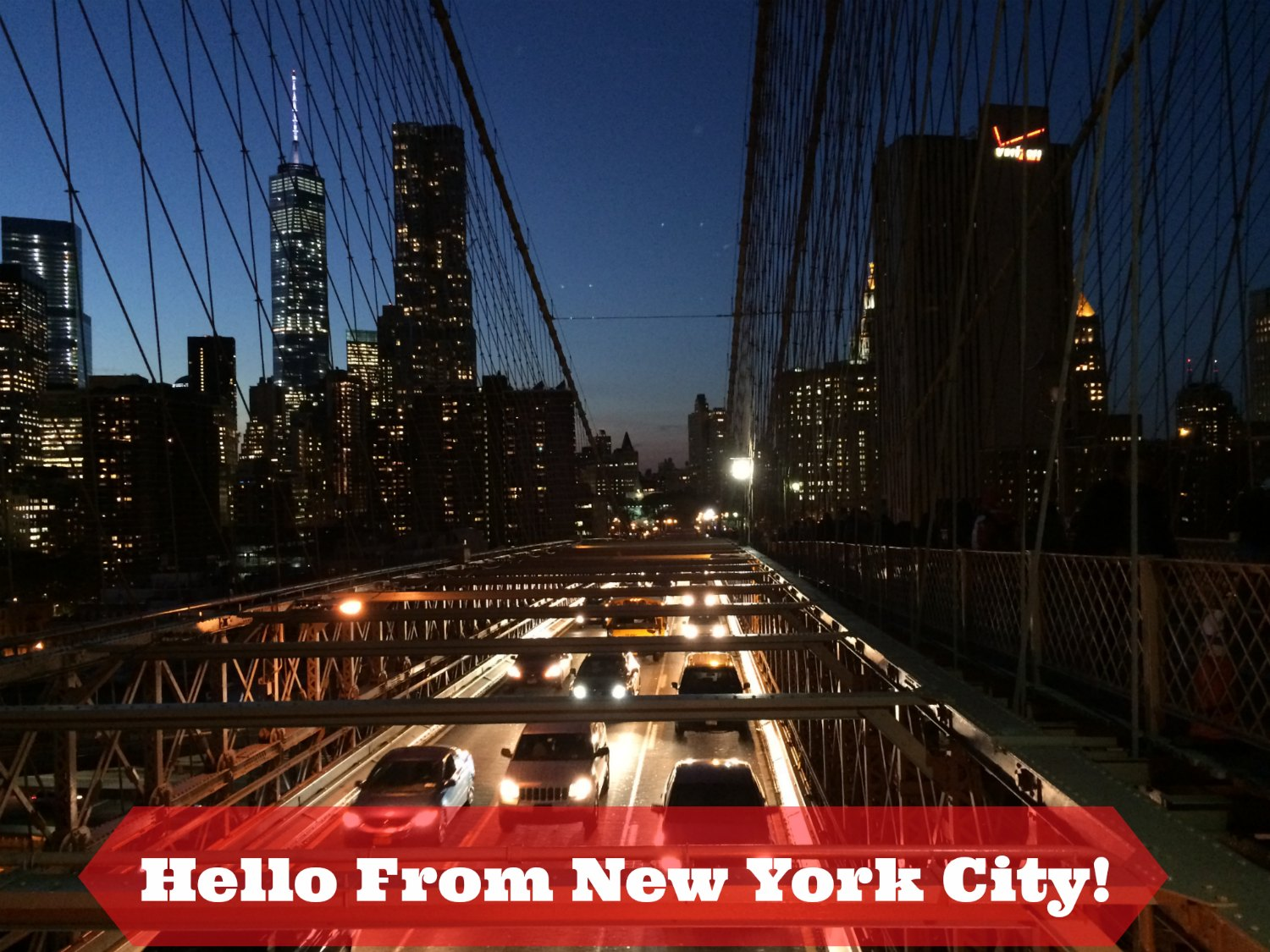 Hello From The Big Apple!
