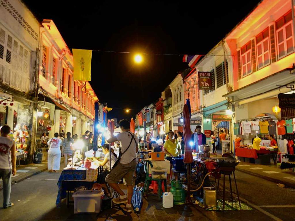 Night Market Phuket Old Town