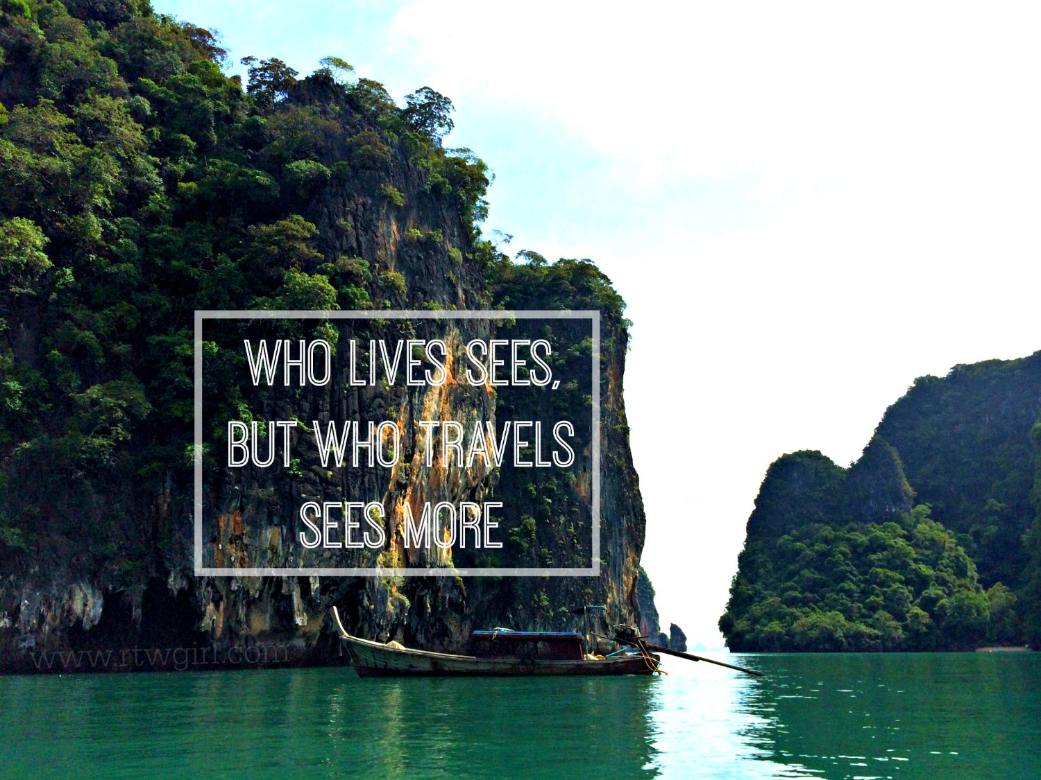 Travel Quote Pinterest Who Lives Sees But Who Travels