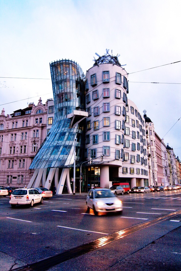 Prague Dancing House Tancici Dum by Frank Gehry | www.rtwgirl.com