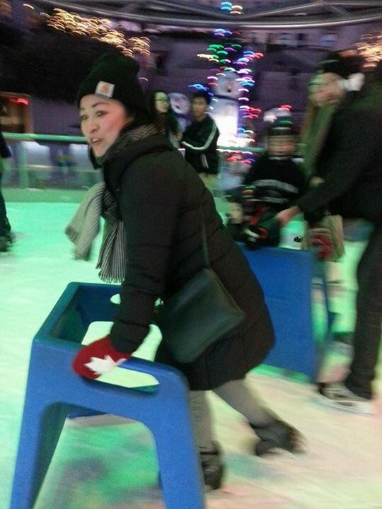 Not Very Good At Ice Skating