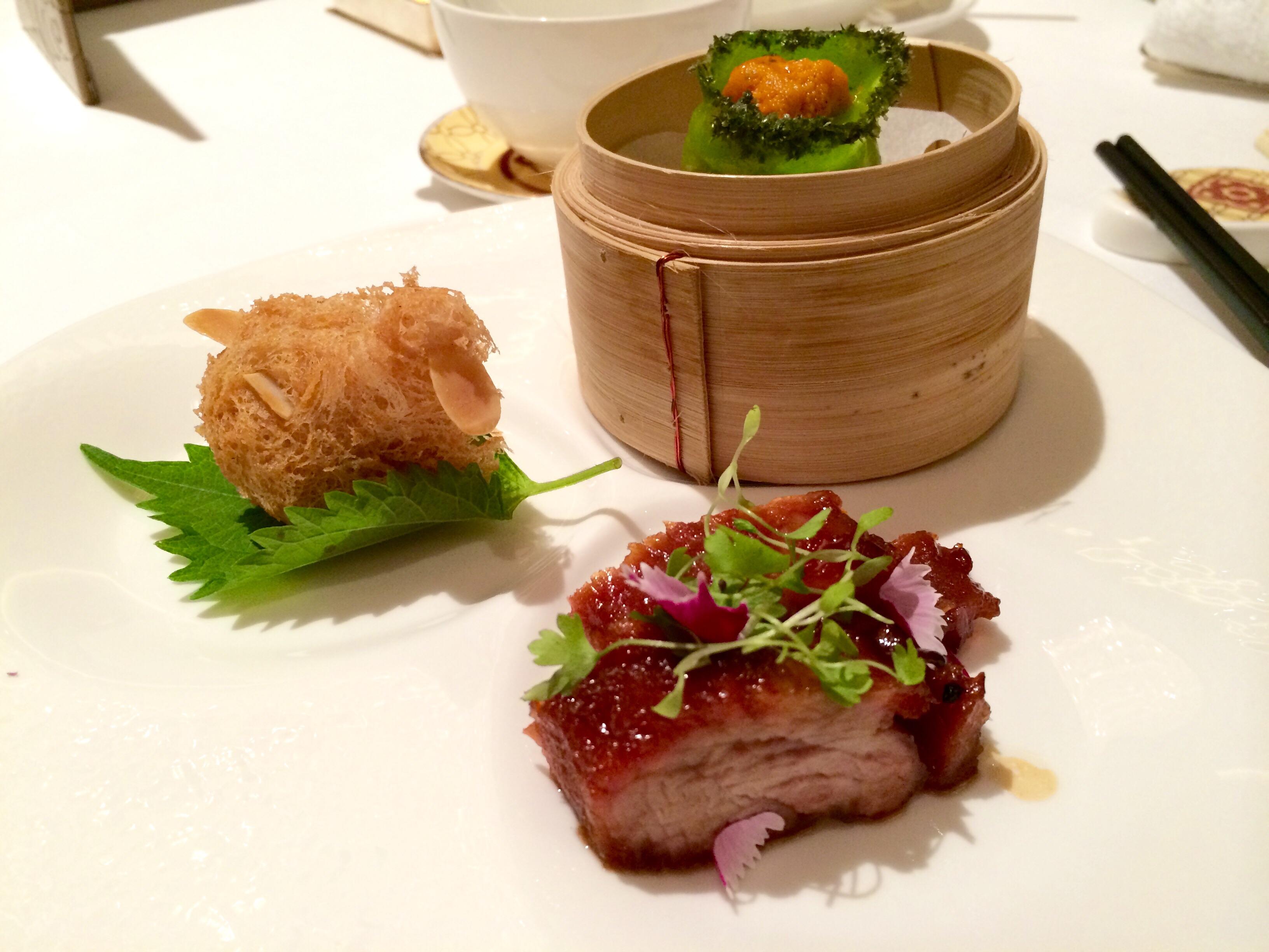 A Michelin Meal at Shang Palace In Hong Kong