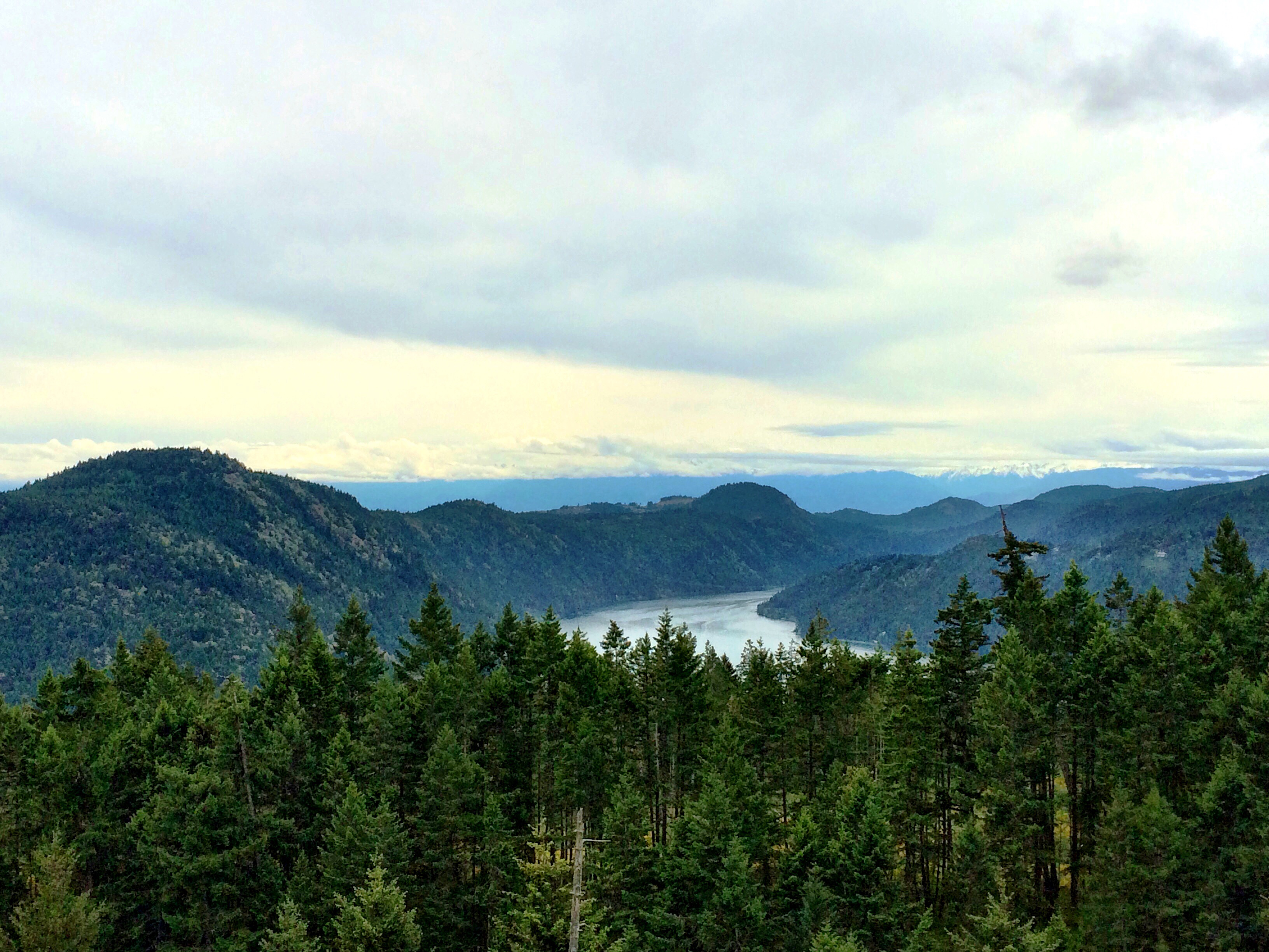 Malahat Lookout on Vancouver Island